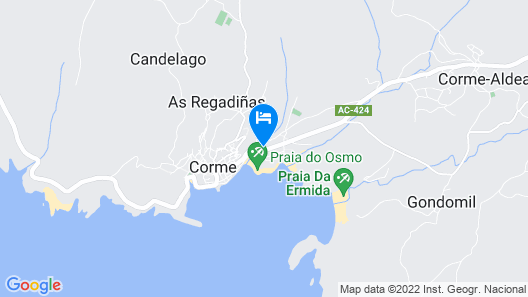 Apartamentos Turísticos Playa de Osmo Map
