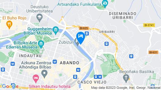 Hotel Conde Duque Bilbao Map