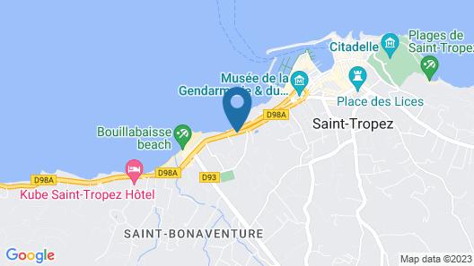 La Bastide du Port Map