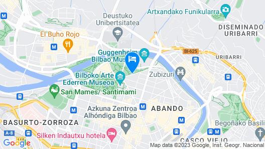 Hotel Miro Map