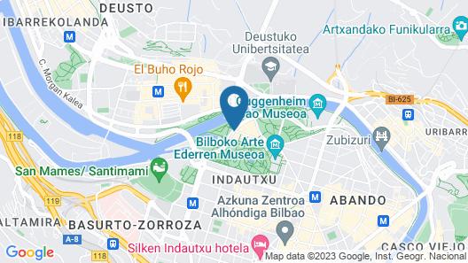 Hotel Melia Bilbao Map