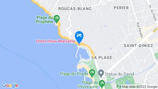 nhow Marseille Map