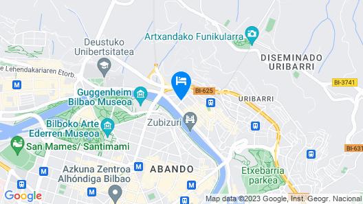 HiBilbao Apartments Map