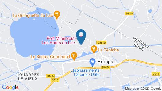 Port Minervois - Les Hauts du Lac Map