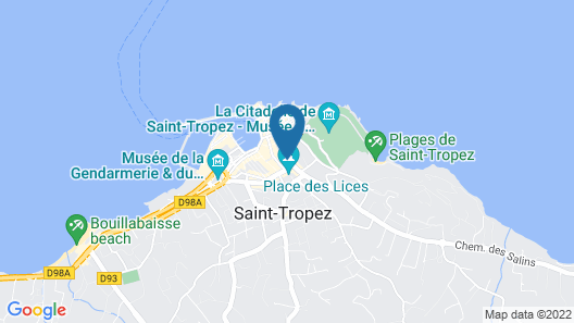 Pan Dei Palais Map