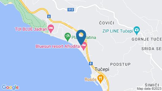 Bluesun Hotel Alga Map
