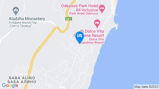 Glicinia Hotel Map