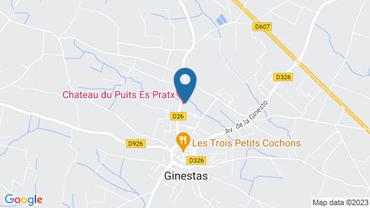 Chateau du Puits es Pratx Map