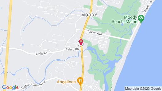 Seacoast Motel Map