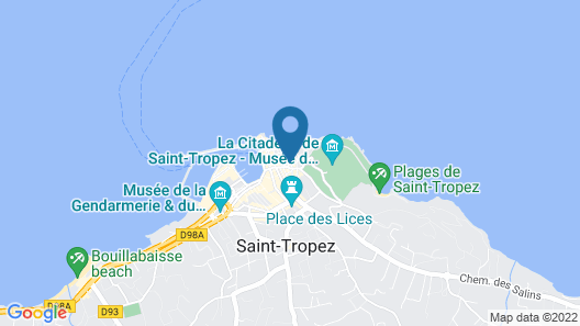 Hôtel Restaurant Le Yaca Map