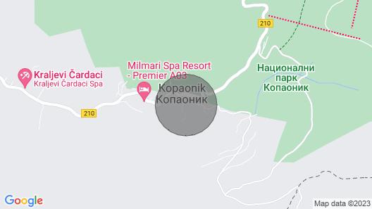 Deluxe Mountain Ski Villa in Kopaonik, Serbia Map