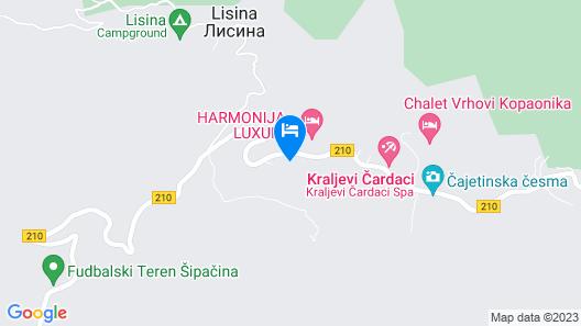 Hotel Milmari Map
