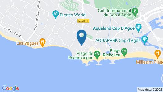 Appart'hôtel Odalys Nakâra Map