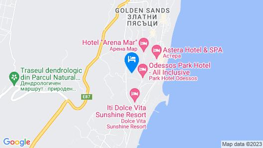 Apollo Golden Sands Map