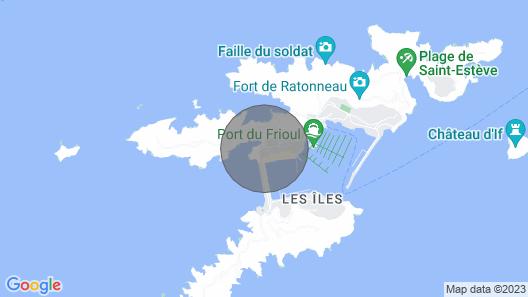 Frioul Islands - Frioul Islands Marseille Calanques - Duplex Grande Terrasse Map