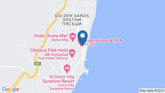 Astera Hotel & Spa Map