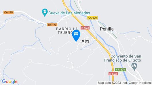 Hotel Villa Arce Map