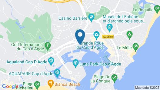 Résidence Agathéa Map