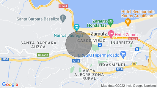 Beach - AT Museum Zarautz Map