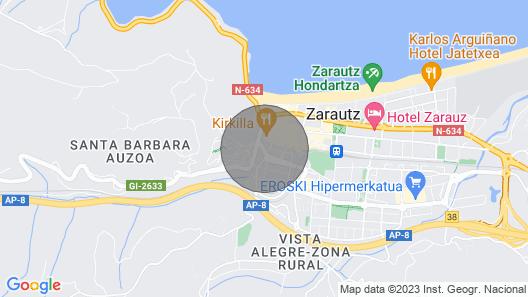 Surf AT Museum Zarautz Map