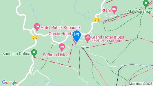 Gorski Hotel & Spa Map