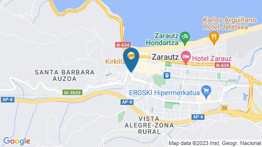 Apartamentos Museum Zarautz Map