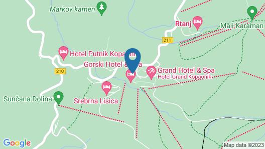 Apartments KOP Konaci i Angella Map