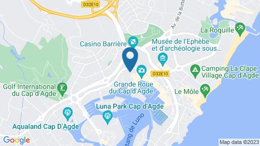 La Marquise - AGDE Map