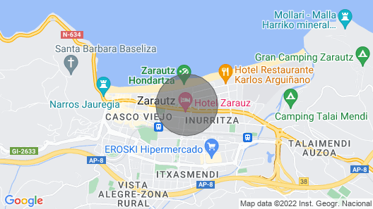 Hondartza - Basque Stay Map