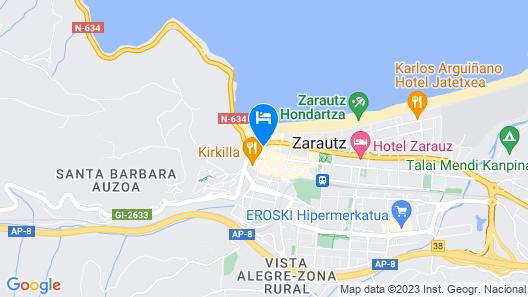 Hotel Olatu Map