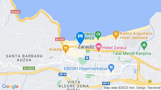 Apartamentos Dada Map