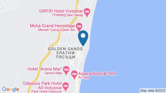 Golden Sands Rentals Map