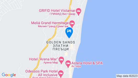 Prestige Hotel and Aquapark  Map