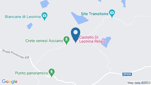 Castello di Leonina Relais Map