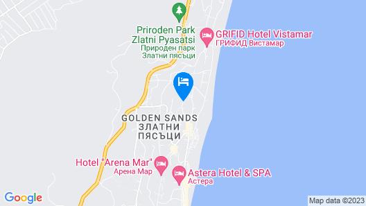 Apart Hotel Golden Line Map