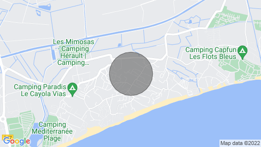 Mobile Home on Private Property in a Natural Location, 500m to the Beach Map