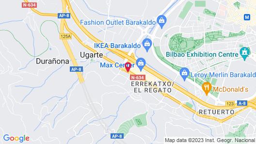 ibis Bilbao Barakaldo Map