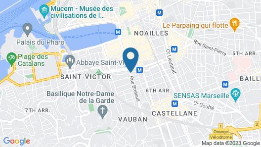 Adonis Marseille Vieux - Port Hôtel du Palais Map