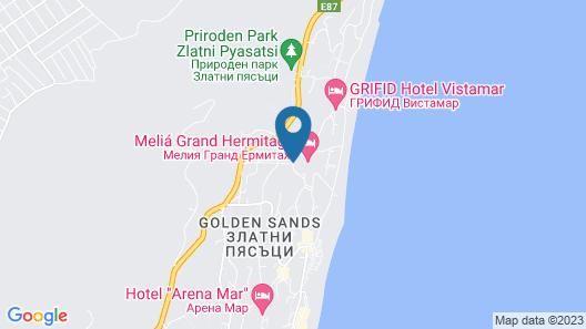 Melia Grand Hermitage - All Inclusive Map