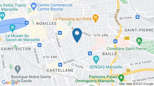 Mama Shelter Marseille Map
