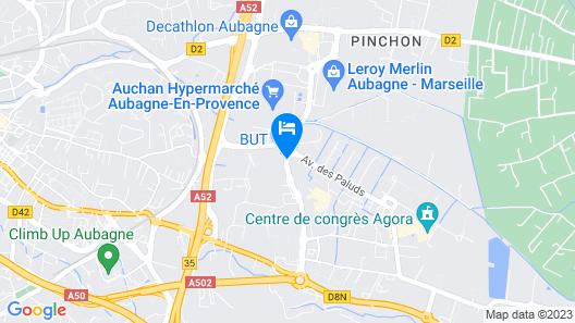 Hotel The OriginalsLe Relais d'Aubagne (ex Inter-Hotel) Map