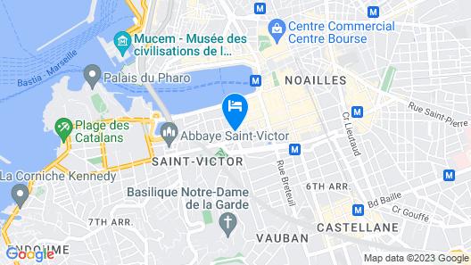 Vertigo Vieux Port Map