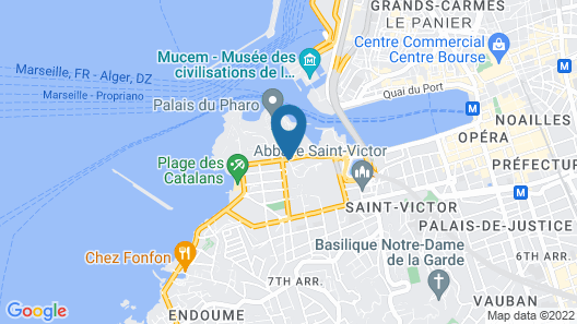 New Hotel of Marseille Map