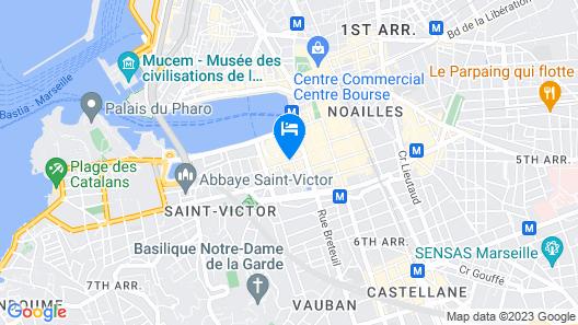 Ibis Budget Marseille Vieux Port Map