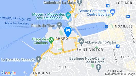 Sofitel Marseille Vieux Port Map