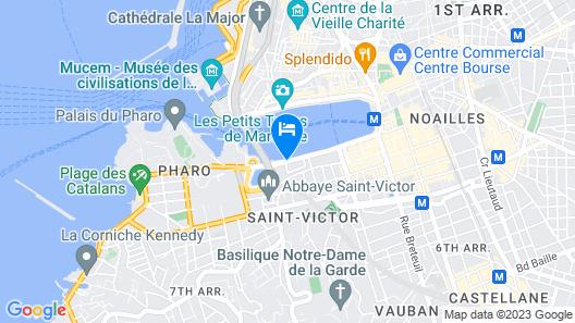 Radisson Blu Hotel, Marseille Vieux Port Map