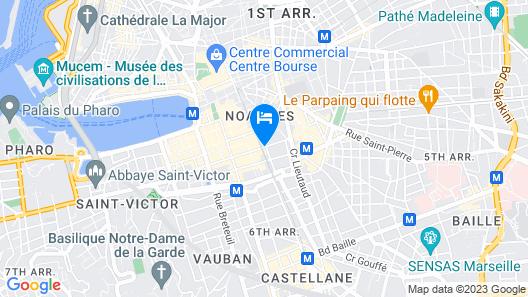 Résidence Estelle Appart'hôtel Map
