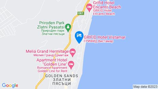 Grifid Hotel Bolero & AquaPark - Ultra All Inclusive Map