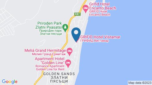 Grifid Hotel Vistamar - Ultra All Inclusive Map