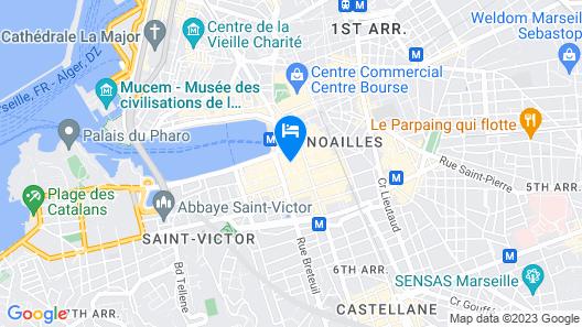 Hôtel Relax Map